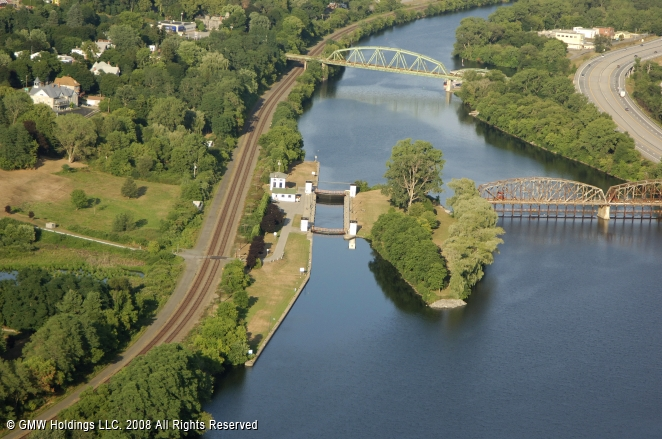 Erie Canal Lock 14 Canajoharie New York United States