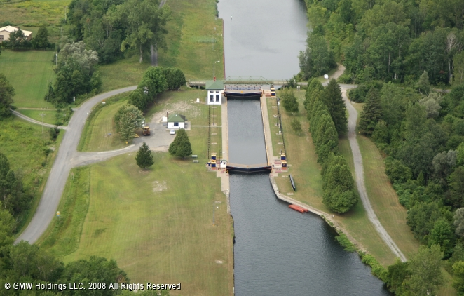 Rome (NY) United States  City pictures : Erie Canal Lock 21, Rome, New York, United States