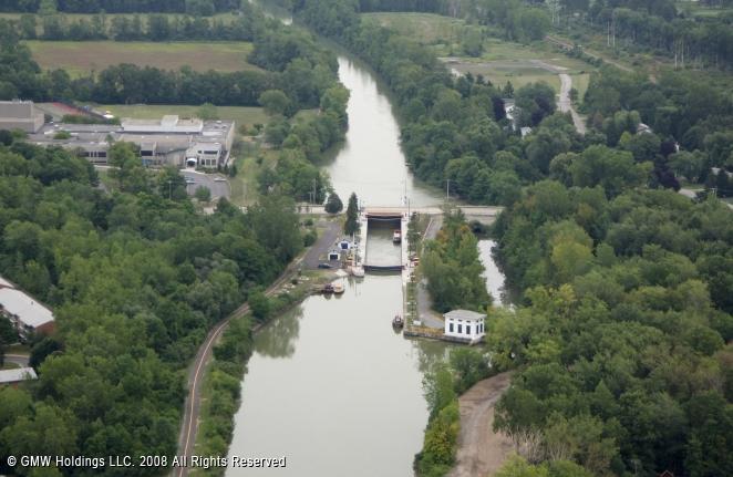 Henrietta (NY) United States  city images : Erie Canal Lock 33, Henrietta, New York, United States