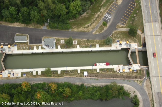 Henrietta (NY) United States  city photo : Erie Canal Lock 33, Henrietta, New York, United States