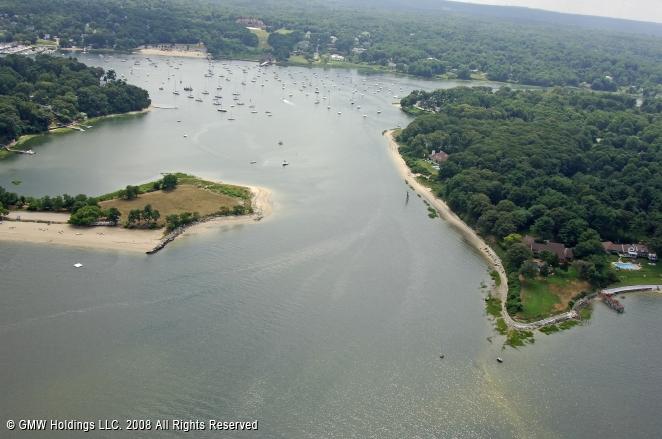 Huntington (NY) United States  city photos : Huntington Harbor Inlet, Huntington, New York, United States