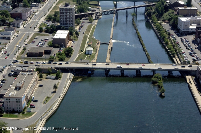 Oswego (NY) United States  city photo : Oswego Canal Lock 7, Oswego, New York, United States