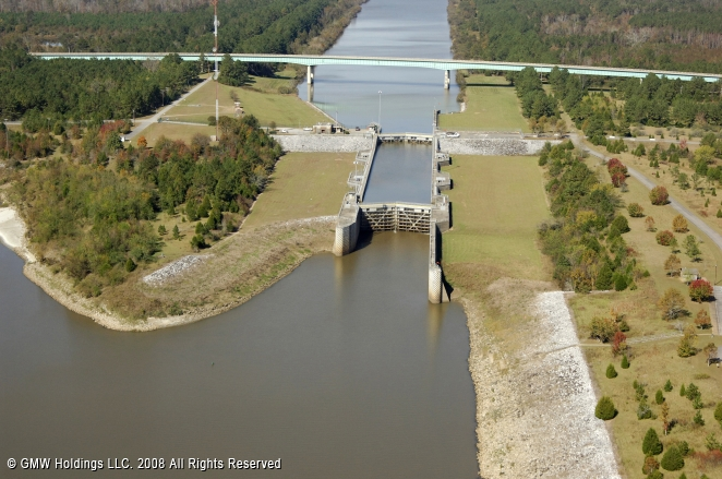 Howell Heflin Lock and Dam