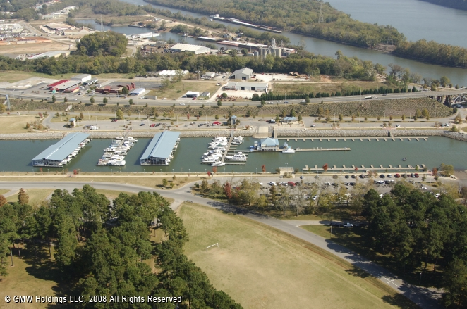 Florence (AL) United States  City new picture : Florence Harbor in Florence, Alabama, United States