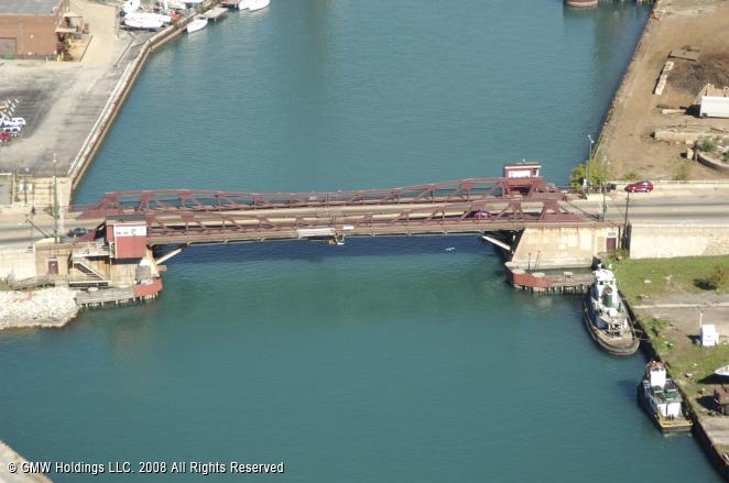 Ewing Avenue Bridge, Chicago, Illinois, United States