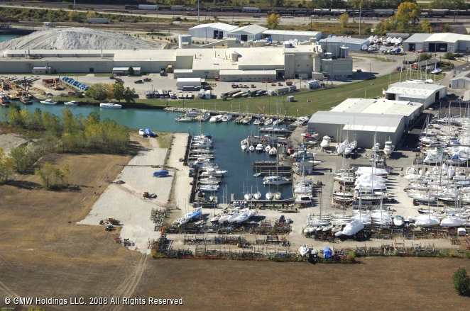 "waukegan illinois and the outboard marine ""waukegan harbor was designated an area of concern primarily due to of pcb  contamination from outboard marine corporation,"" hedman."