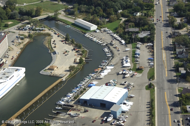 Michigan City (IN) United States  city photos gallery : Trail Creek Marina in Michigan City, Indiana, United States