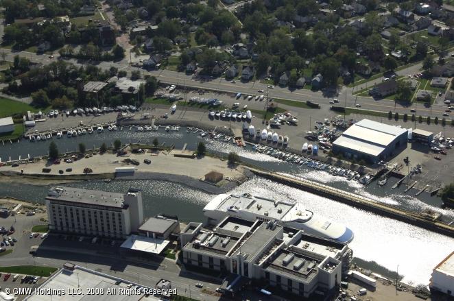 Michigan City (IN) United States  City new picture : Trail Creek Marina in Michigan City, Indiana, United States