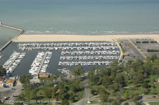 Michigan City (IN) United States  City pictures : Washington Park Marina in Michigan City, Indiana, United States