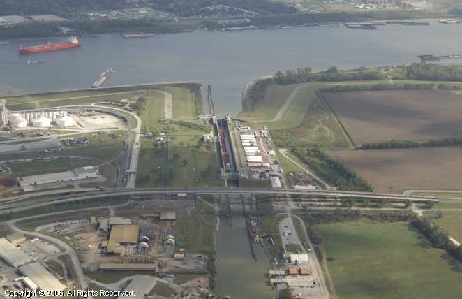 Port Allen (LA) United States  City pictures : Port Allen Canal Lock, Port Allen, Louisiana, United States