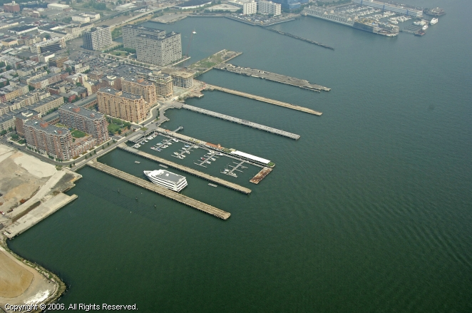 Shipyard Marina in Hoboken, New Jersey, United States