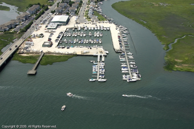Stone Harbor Marina in Stone Harbor, New Jersey, United States