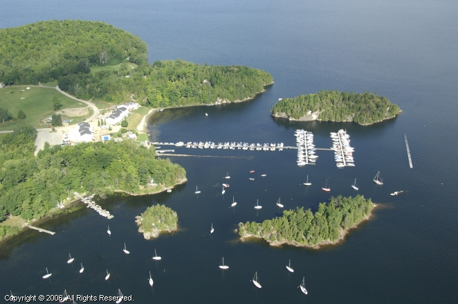 Colchester (VT) United States  City pictures : Marina at Marble Island in Colchester, Vermont, United States