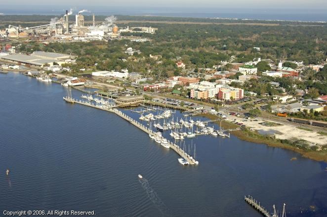 Fernandina Harbor Marina In Fernandina Beach Florida