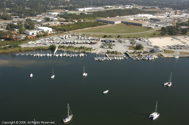 Pensacola Shipyard Marina and Boatyard in Pensacola, Florida, United States