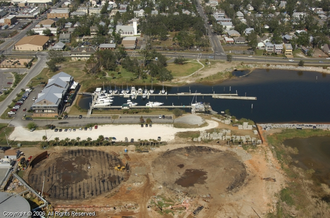Seville Harbour in Pensacola, Florida, United States