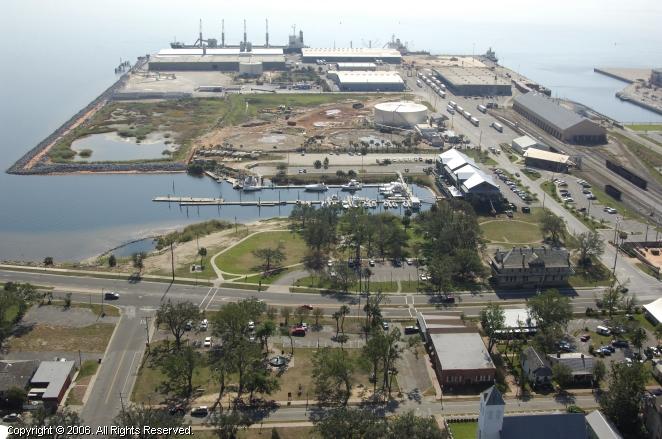 Seville Harbour in Pensacola, Florida, United States