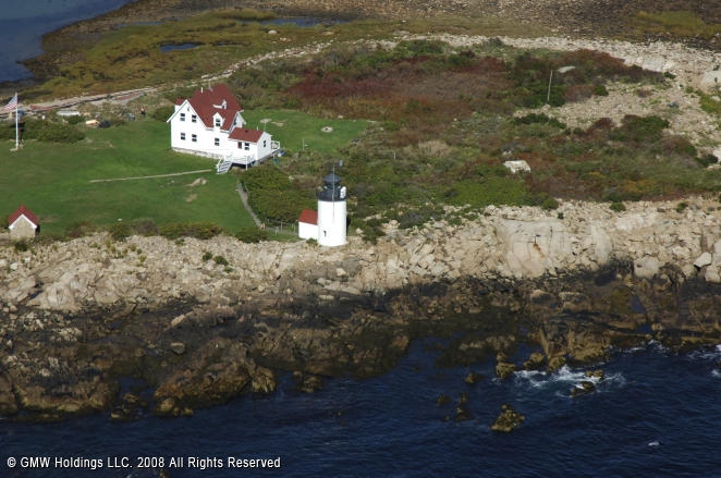 Maine's Goat Island Light Restoration Completed   New ...  Goat Island Lighthouse