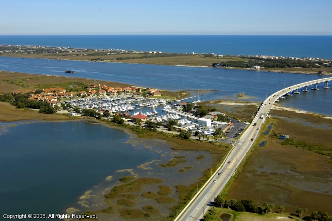 Camachee Cove Yacht Harbor located in St. Augustine
