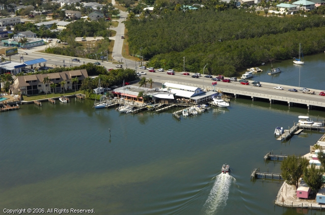 Channel Mark Marina and Restaurant in Fort Myers Beach, Florida, United States