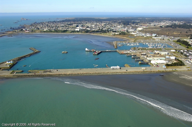 Crescent City (CA) United States  City new picture : Crescent City Harbor in Crescent City, California, United States