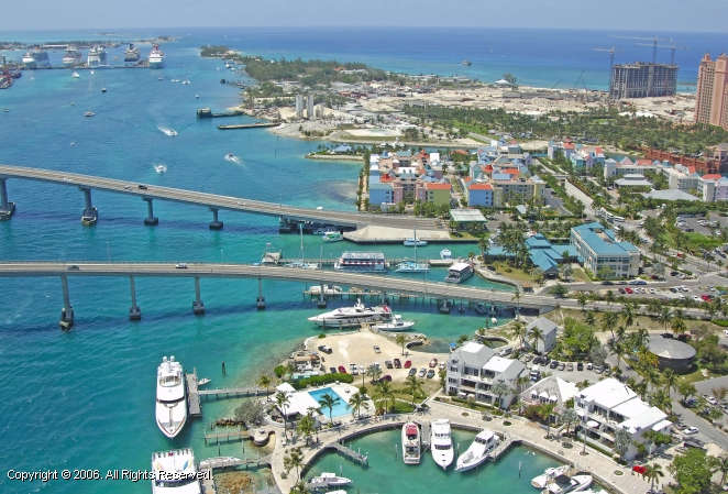 Paradise Island Ferry Terminal Map