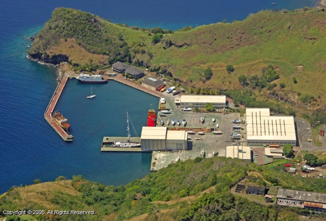 Ottley Hall Marina & Shipyard, St. Vincent and the Grenadines