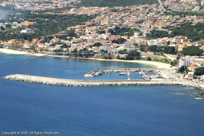 Cala Gonone Italy  city photos gallery : Cala Gonone Harbour Marina in Sardinia, Italy