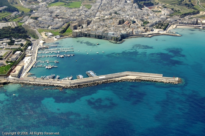 Otranto Marina in Puglia, Italy