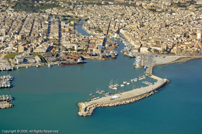 Mazara Del Vallo Italy  city images : Mazara Del Vallo Canal Marina in Sicily, Italy