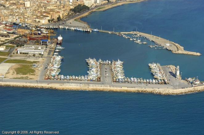 Mazara Del Vallo Italy  city photo : Mazara Del Vallo Commercial Marina in Sicily, Italy