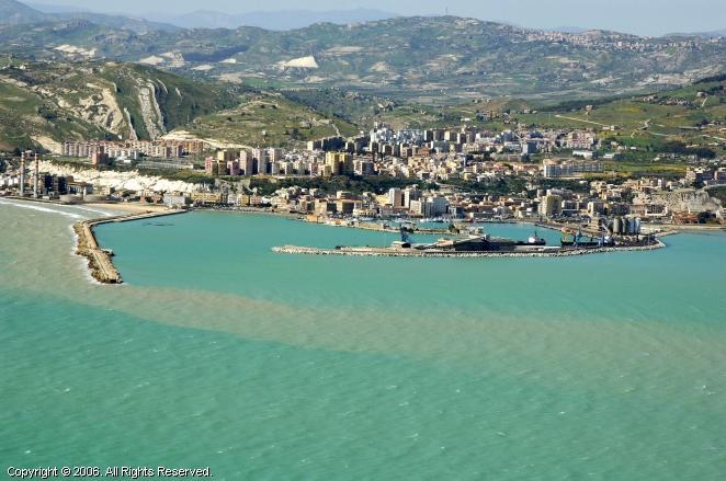Porto Empedocle Italy  city photos gallery : Porto Empedocle Marina in Sicily, Italy