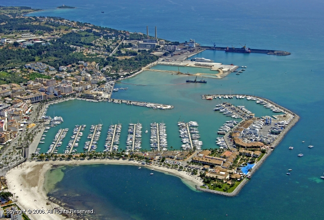 Port d'Alcudia Spain  City new picture : Port D'Alcudia Marina in Ballearic Islands, Spain
