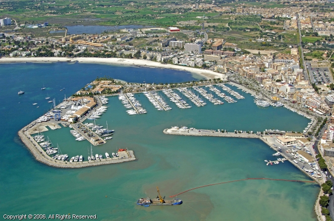 Port d'Alcudia Spain  City pictures : Port D'Alcudia Marina in Ballearic Islands, Spain