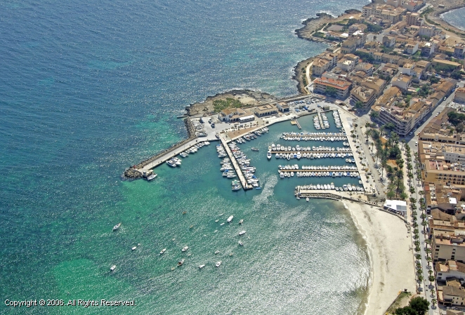 Colonia Sant Jordi Spain  city images : Puerto De Colonia Sant Jordi Marina in Ballearic Islands, Spain