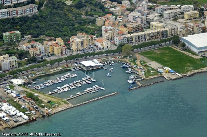 Lungomare Giovanni Caboto Marina in Lazio, Italy