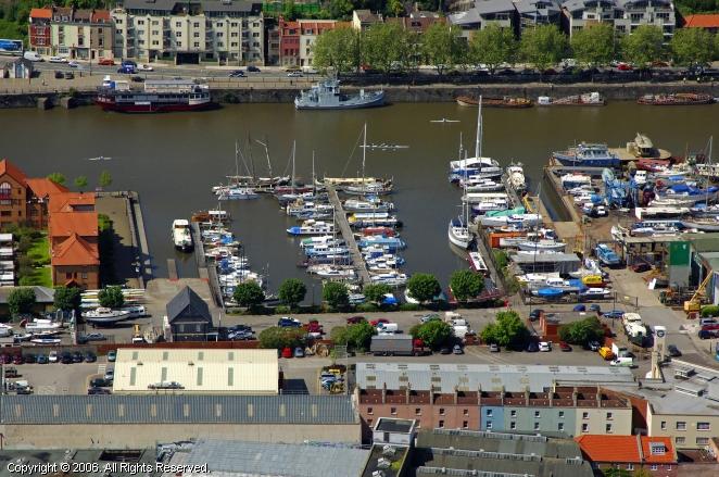 Bristol United Kingdom  city photos : Bristol Marina in Bristol, England, United Kingdom