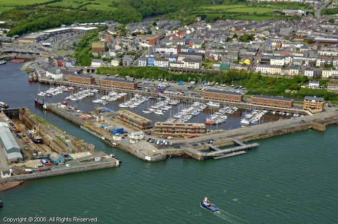 Pembrokeshire United Kingdom  city photos gallery : Milford Marina in Pembrokeshire, Wales, United Kingdom