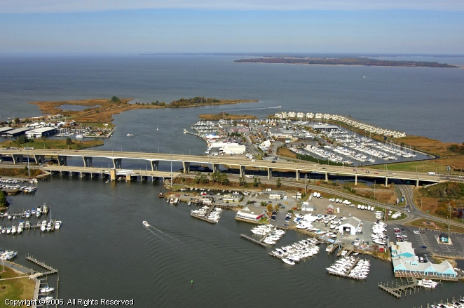 Grasonville (MD) United States  city images : Mears Point Marina in Grasonville, Maryland, United States