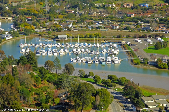 San Rafael (CA) United States  City pictures : Marin Yacht Club in San Rafael, California, United States