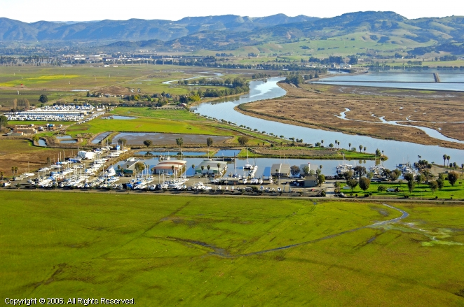Napa (CA) United States  City pictures : Napa Valley Marina in Napa, California, United States