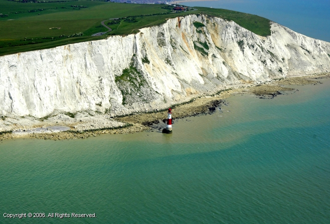 Eastbourne United Kingdom  City pictures : Beachy Head Light, Eastbourne, England, United Kingdom