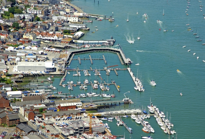 Cowes United Kingdom  city photos : Cowes Yacht Haven in Cowes, England, United Kingdom