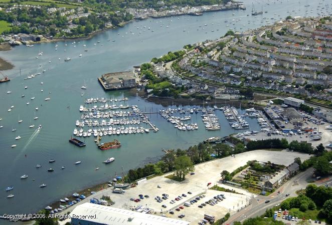 Falmouth United Kingdom  city photo : Falmouth Marina in Falmouth, Cornwall, England, United Kingdom