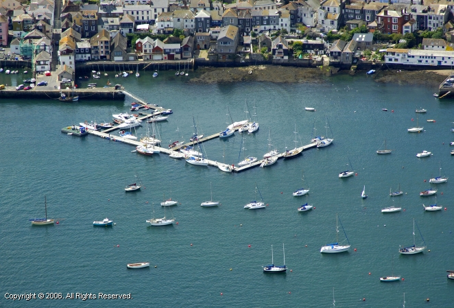 Falmouth United Kingdom  City new picture : Falmouth Yacht Haven in Falmouth, Cornwall, England, United Kingdom