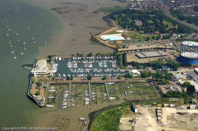 Gillingham United Kingdom  city photos gallery : Gillingham Marina in Gillingham, Kent, England, United Kingdom