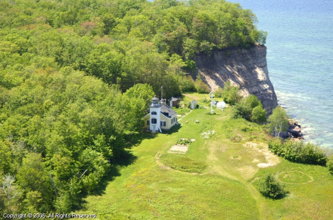 Munising (MI) United States  city pictures gallery : Grand Island North Channel Light, Munising, Michigan, United States
