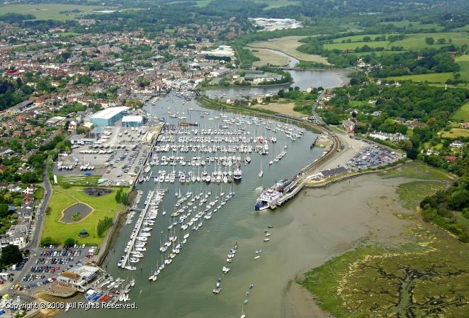 Lymington United Kingdom  city pictures gallery : Lymington Marina in Lymington, Southampton, England, United Kingdom