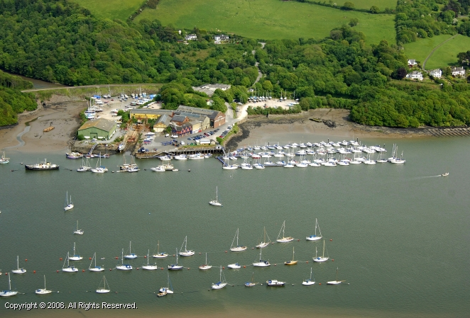 Dartmouth United Kingdom  city images : Noss On Dart Marina in Dartmouth, Devon, England, United Kingdom
