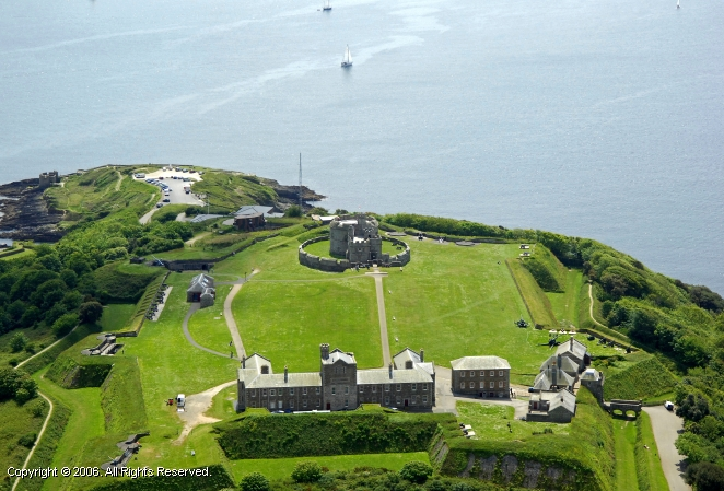Falmouth United Kingdom  city pictures gallery : Pendennis Castle, Falmouth, Cornwall, England, United Kingdom